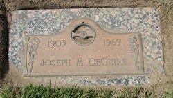 Joseph M DeGuire