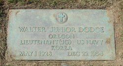 Walter Fred Dodge, Jr