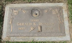 "Gerald Kenneth ""Jerry"" Dunlap"