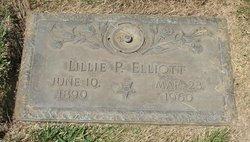 Lillie P Elliott