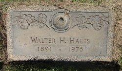 Walter H Hales