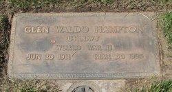 Glen Waldo Hampton