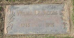 Wilma D Jacobs