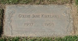 Goldie Jane <I>Leuck</I> Kirkland
