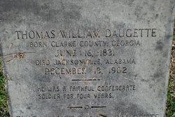 Pvt Thomas William Daugette