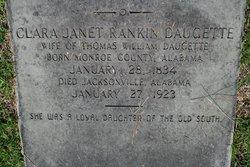 "Clarissa Janet ""Clara"" <I>Rankin</I> Daugette"