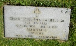Martha E <I>Sanks</I> Tarbell