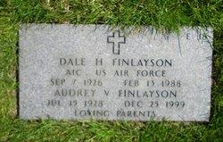 Audrey V Finlayson