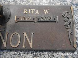 Rita Winifred <I>Kelleher</I> Cannon