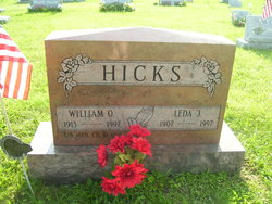 "Leda Mae ""King"" <I>Johnston</I> Hicks"