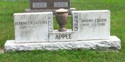 Murry Cowen Apple