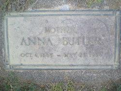 Anna <I>O'Neal</I> Butler