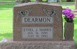 Ethel Jewel <I>Harris</I> Dearmon