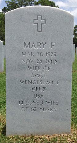 Mary Elizabeth Cruz