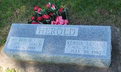 Verda Amelia <I>Eccles</I> Herold