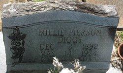 Millie <I>Pierson</I> Diggs