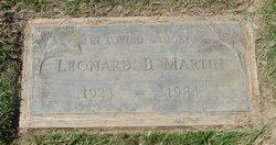Leonard B Martin