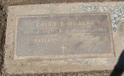 Colbie Edward Miller