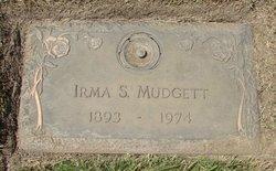 Irma S Mudgett
