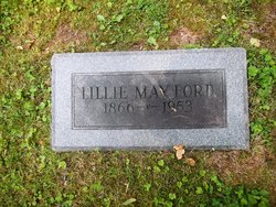Lillie May <I>Ford</I> Lowther