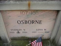 Lena M <I>Stout</I> Osborne