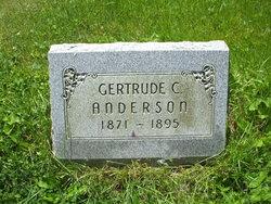 Gertrude Cecilia <I>Rice</I> Anderson