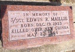 SSGT Edwin Roy Maillie