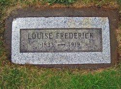 Louisa Frederick