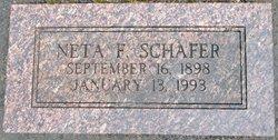 Neta F. <I>Smith</I> Schafer