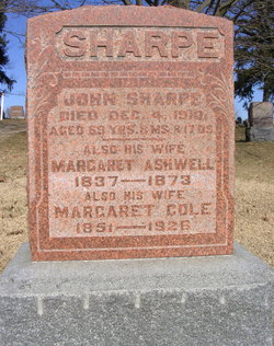 "Margaret ""Maggie"" <I>Ashwell</I> Sharpe"