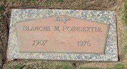 Blanche M Poindexter