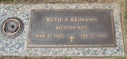 Ruth A Reimann
