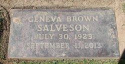 Geneva <I>Brown</I> Salveson