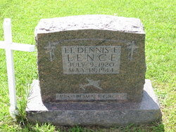 2LT Dennis Earl Lence