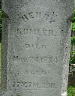 Henry Kumler, Jr