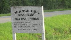 Orange Hill Baptist Church Cemetery African Americ