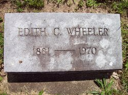 Edith C Wheeler