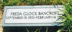 Frieda <I>Glock</I> Bancroft
