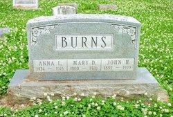 Mary Delma <I>Blackburn</I> Burns