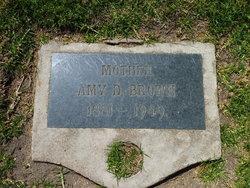 Amy D. <I>Holt</I> Brown