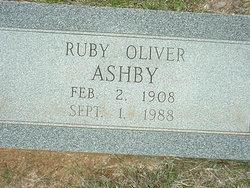 Ruby Estelle <I>Oliver</I> Ashby
