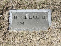 Eunice <I>Ludewig</I> Carter