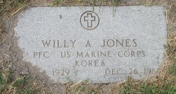 Willy A Jones