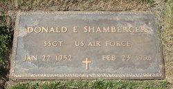 Donald E Shamberger