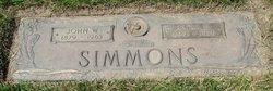 Cora E <I>Streib</I> Simmons