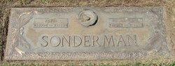 Florence E <I>Pearson</I> Sonderman