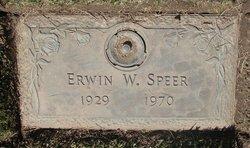 Erwin W Speer