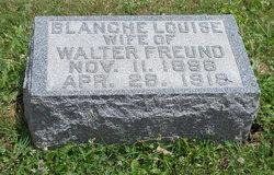 Blanche Louise <I>Abram</I> Freund