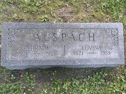Lovina E. <I>Hoff</I> Alspach