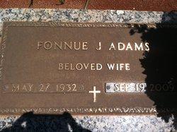 Fonnue <I>Jones</I> Adams